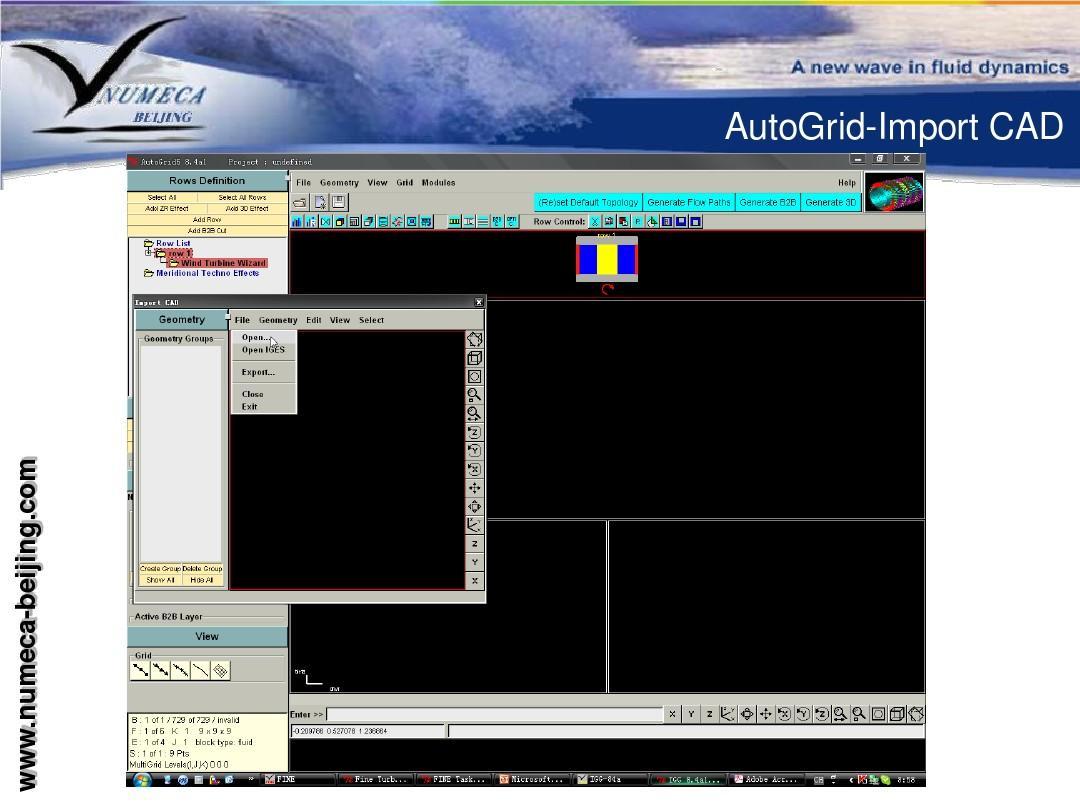 风力机叶片气动性能数值分析_ag5ppt