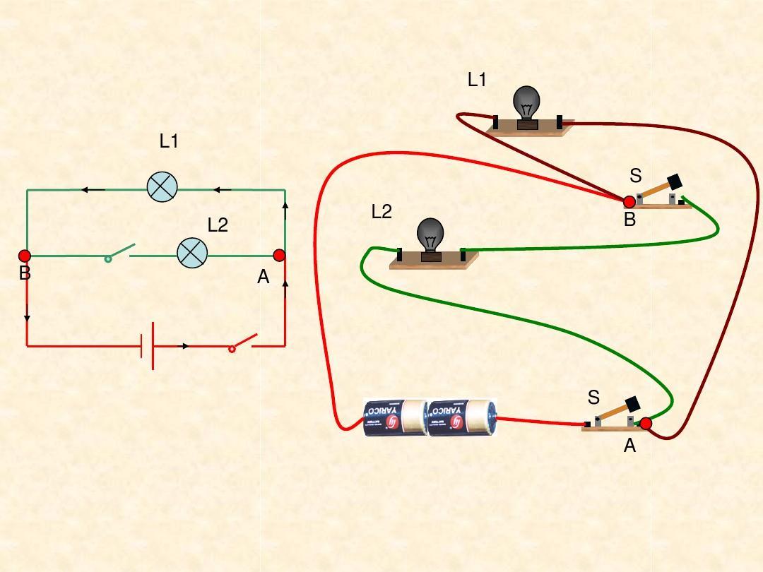 初中电学中根据实物连接图画出相应的电路图,或者根据电路图连接实物图片