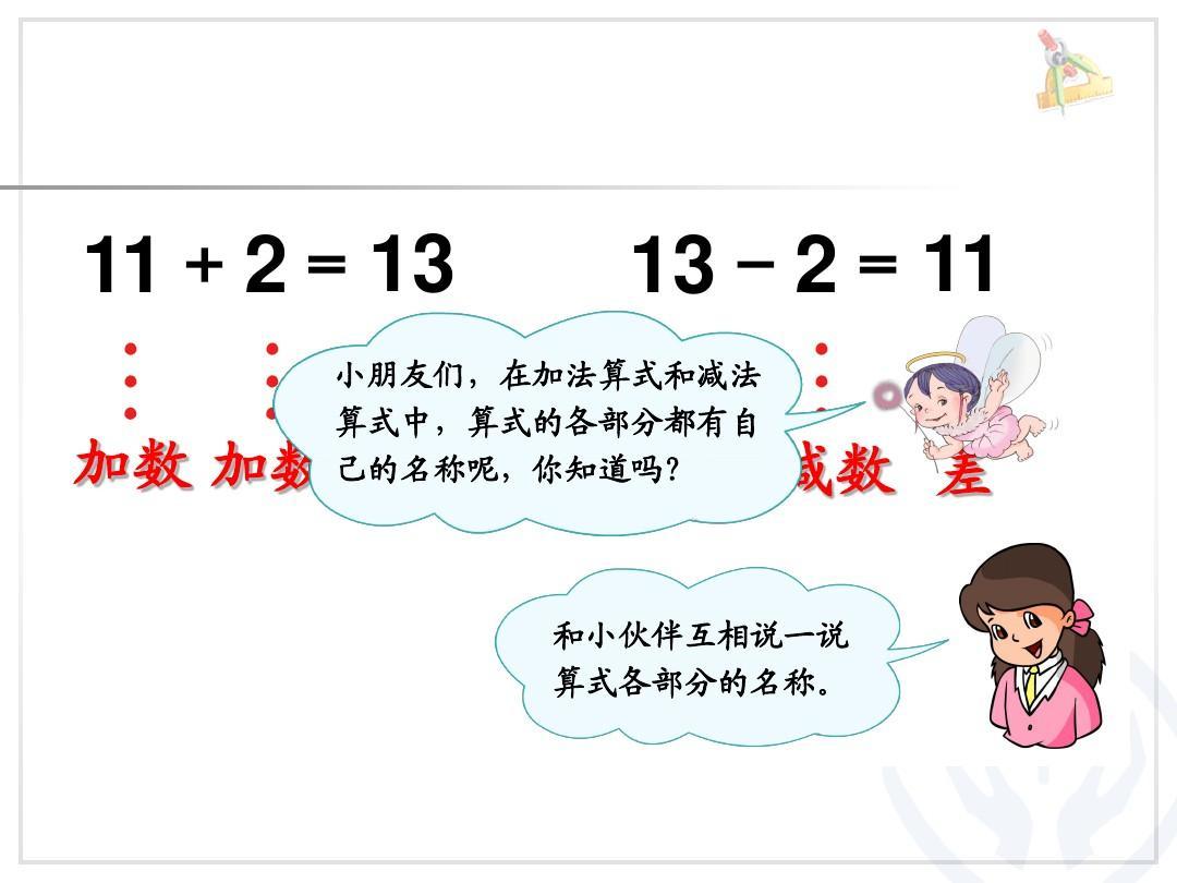 第6单元—10加几和相应的减法,十几加几和相应的减法ppt图片