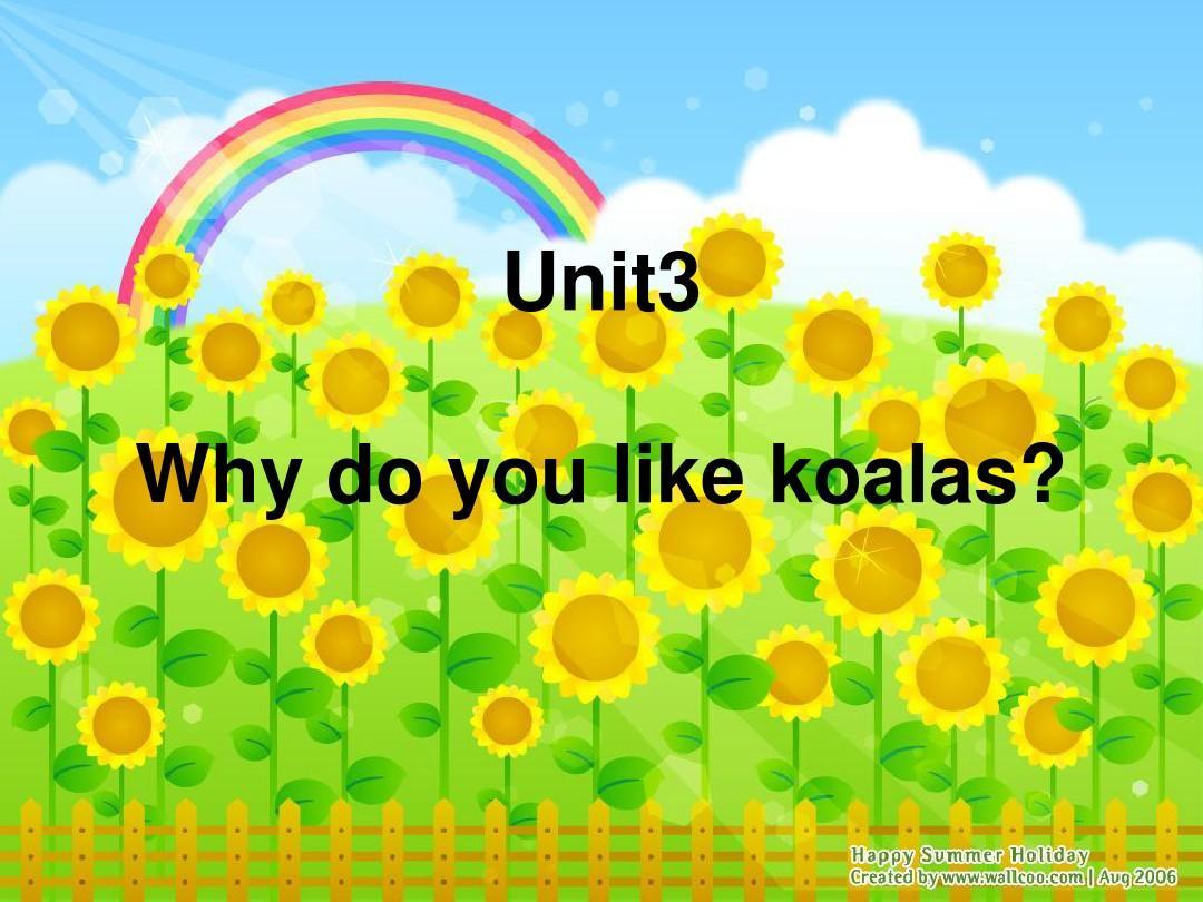 新目标英语七年级下Unit3课件