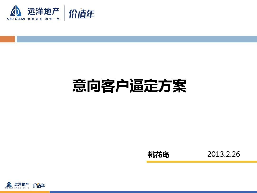 房地产意向客户逼定方-王海涛案2013.2.26