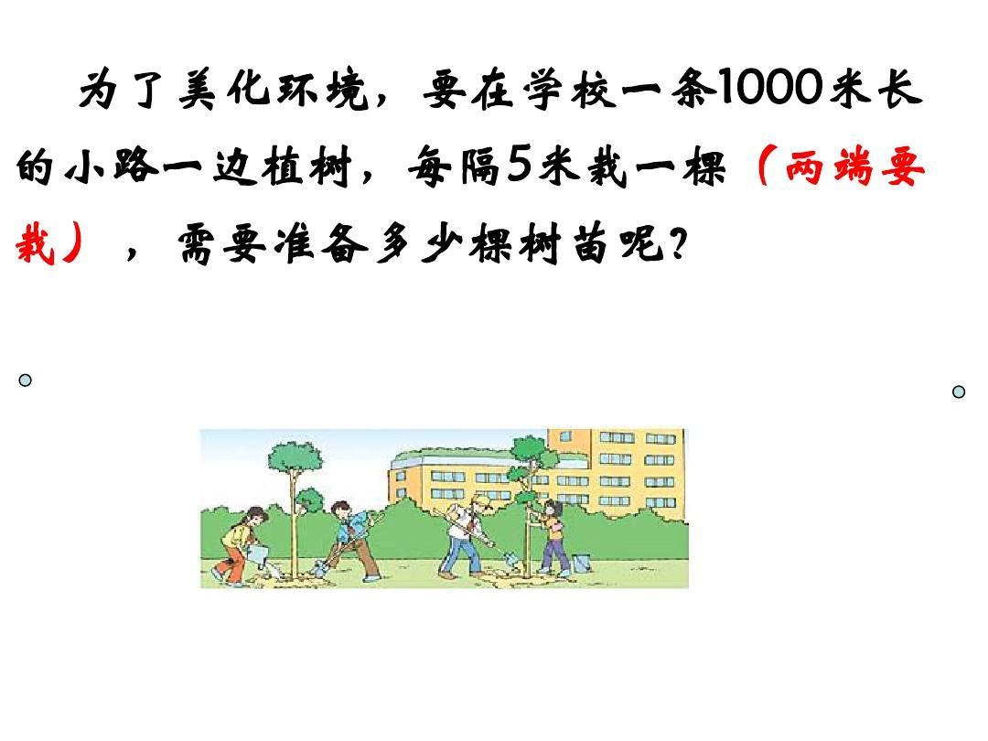 《植树问题例2》可用ppt猴子《大班学样》说课稿图片