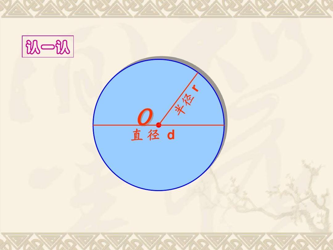 圆的认识教案_六年级数学上册《圆的认识(二)》教学课件 北师大版ppt
