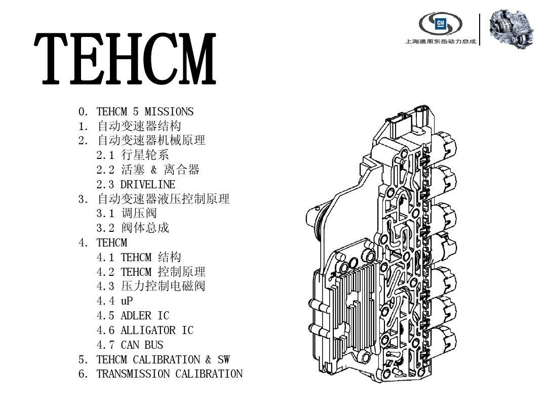 gf6变速箱电液控制原理ppt图片