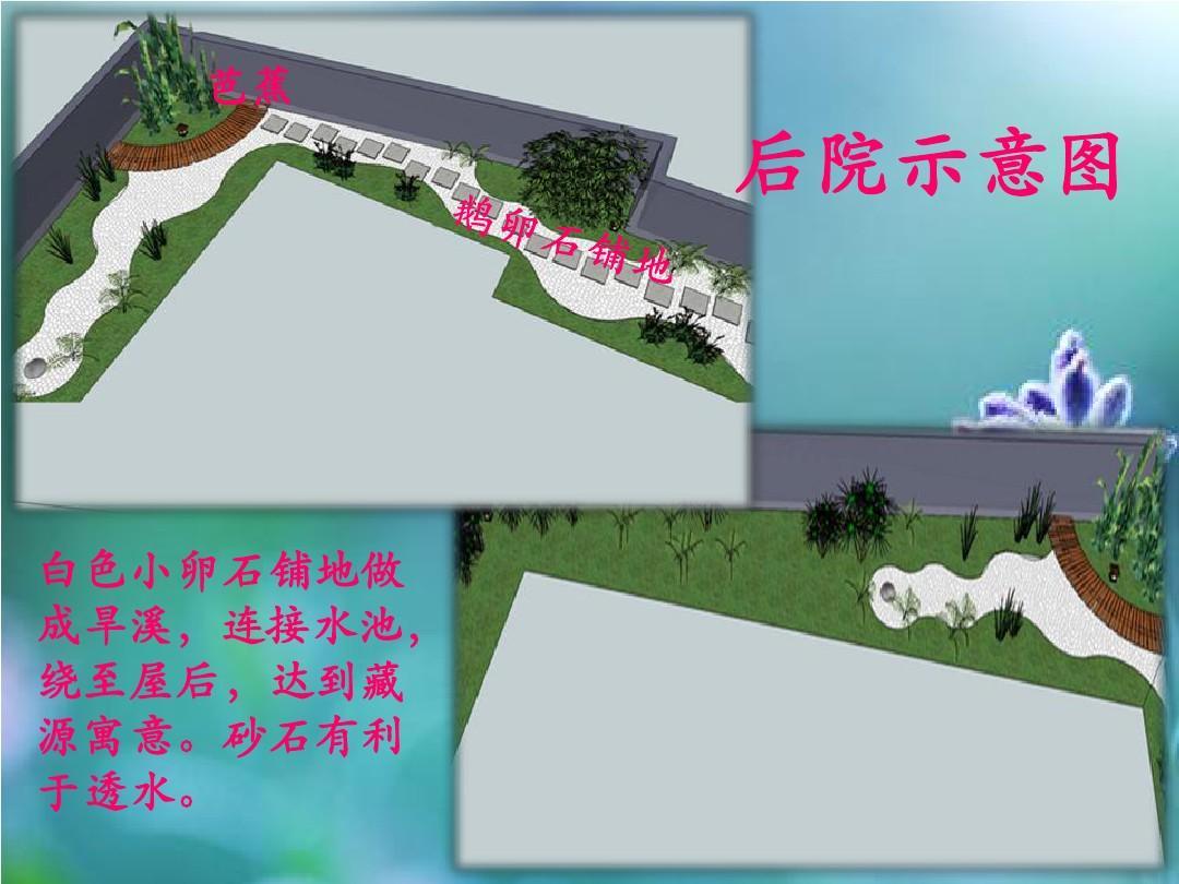 农村庭院设计ppt图片