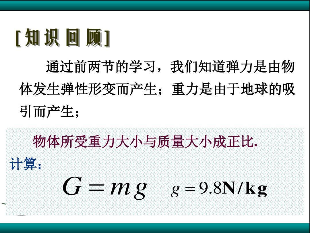 3.3 摩擦力(精品)解析PPT