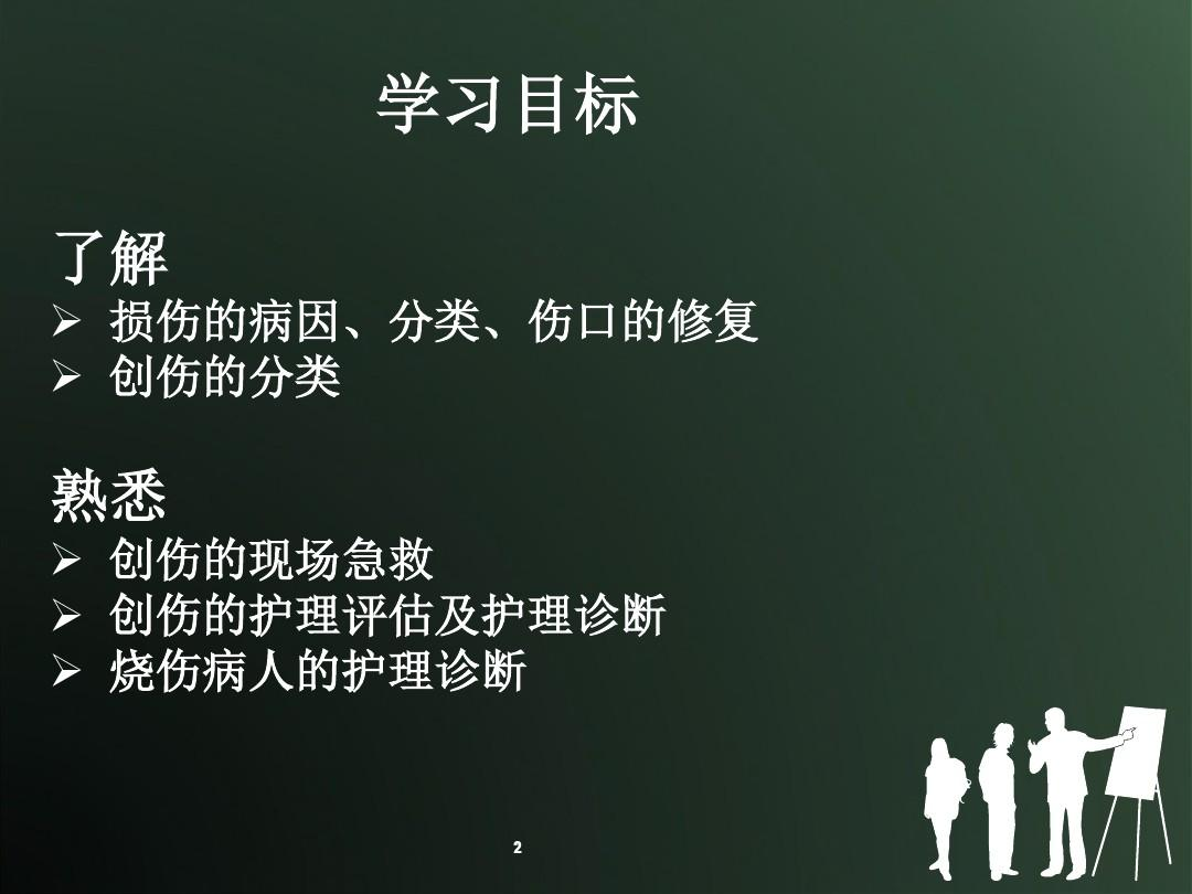 损伤课件的护理ppt病人第三节黄土高原说课稿图片