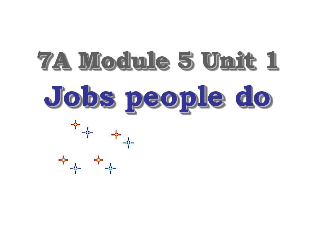 七年级英语jobs people do课件(3)