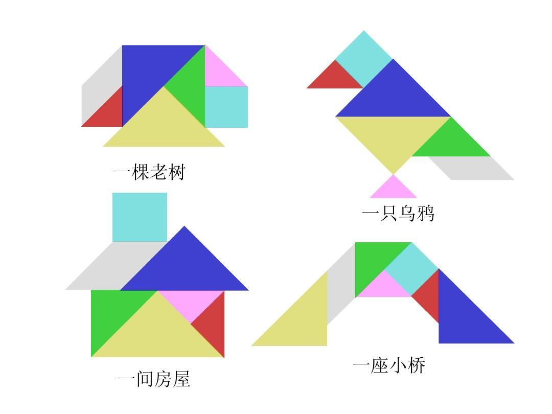 无忧文档 所有分类 教学研究 教学案例/设计 讲课神奇的七巧板ppt图片