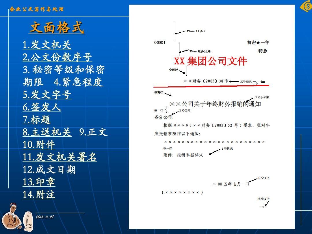 发文机关 2.公文份数序号 2.公文份数序号 3. 秘密等级和保密 期限 4.图片