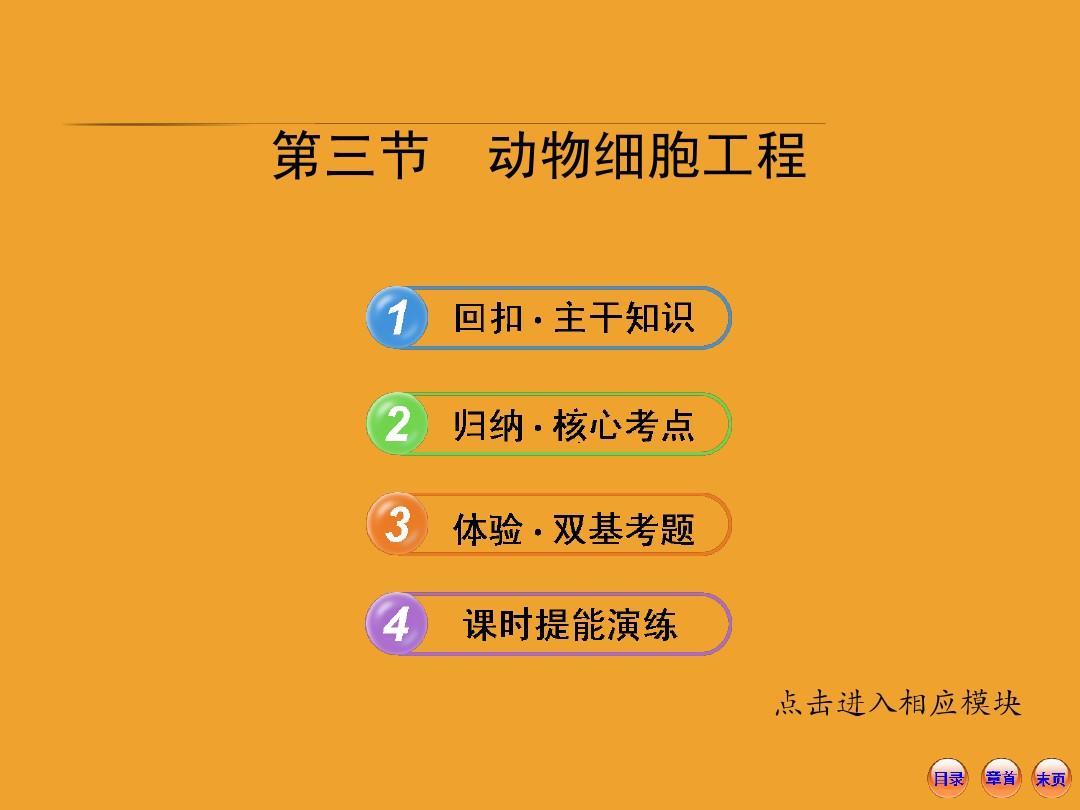 2014届高三生物一轮复习课件:3.2.3动物细胞工程(苏教版必修3)