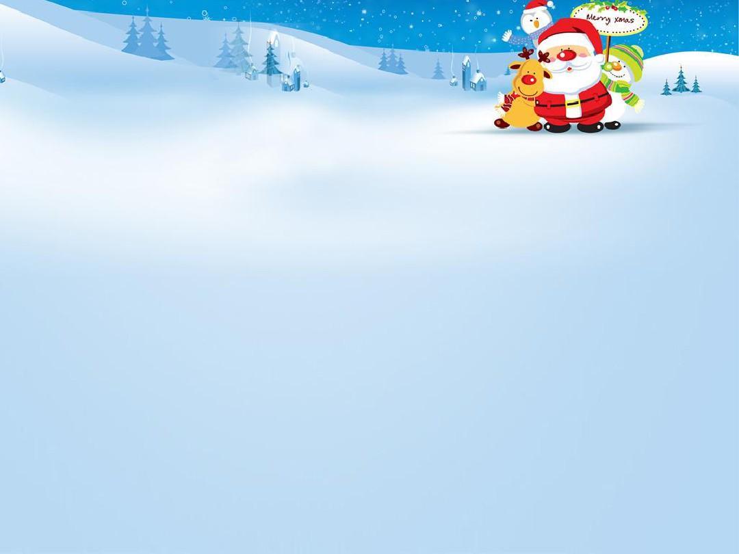 圣诞老人卡通ppt模板免费下载图片