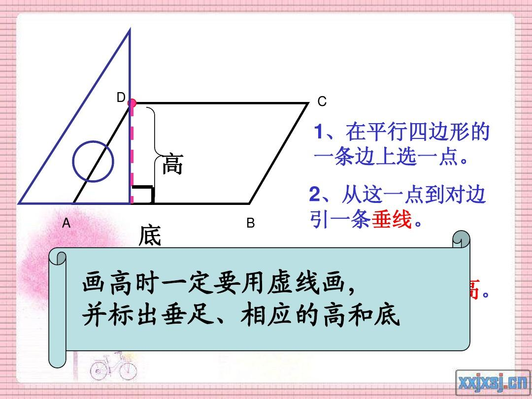 平行四边形和梯形的高 2ppt图片