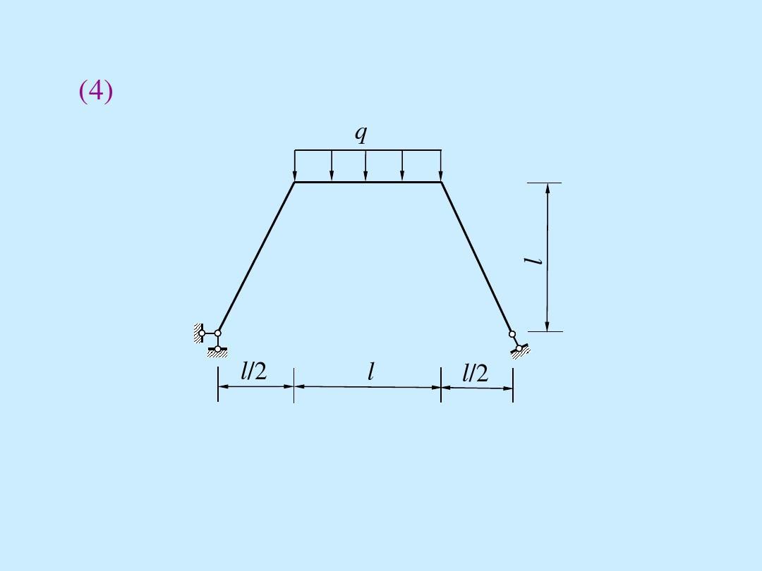 静定刚架题_习题课2 静定梁与平面刚架的内力计算_124901875答案
