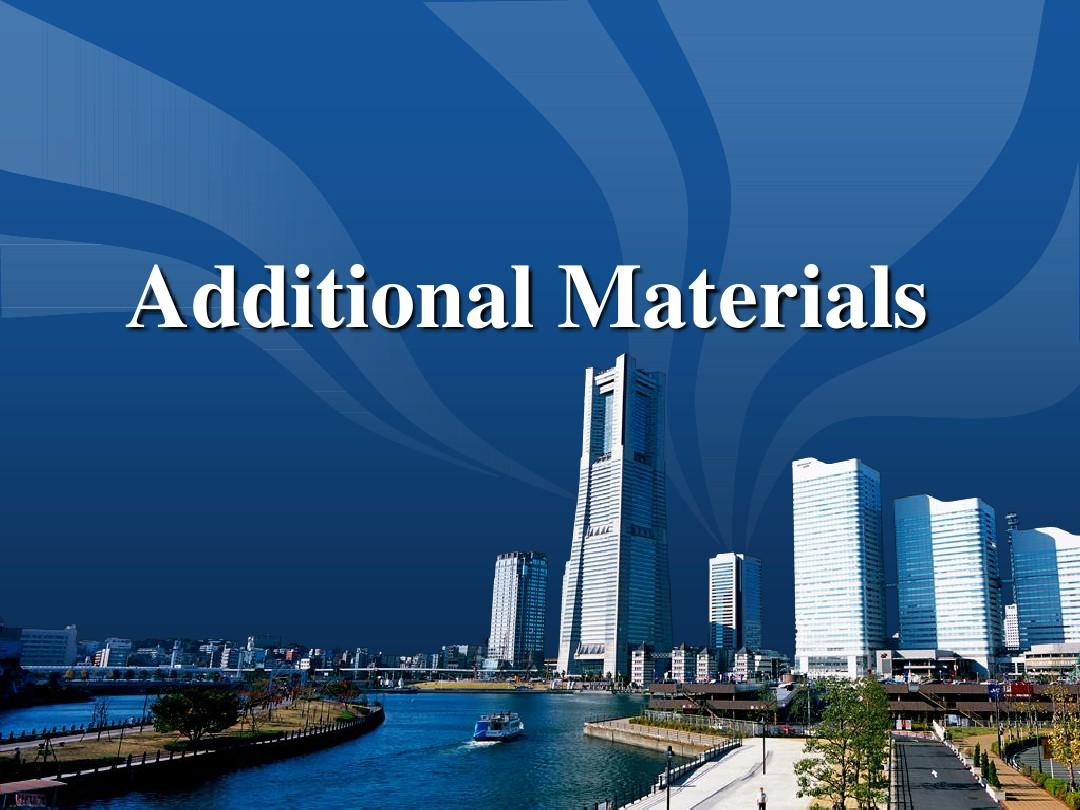 CXB1_U4_ADDITIONAL MATERIALS