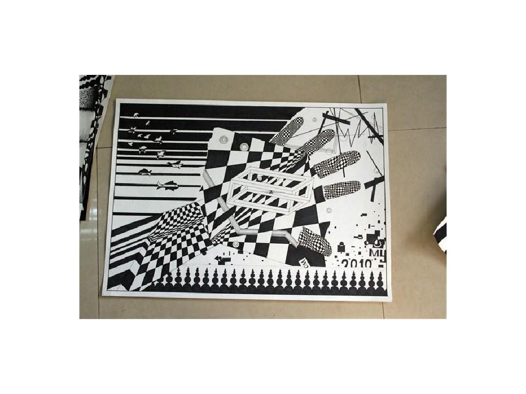 中南大学建筑学海报平面构成作业(过程)部分首届设计制作活动大赛学生图片