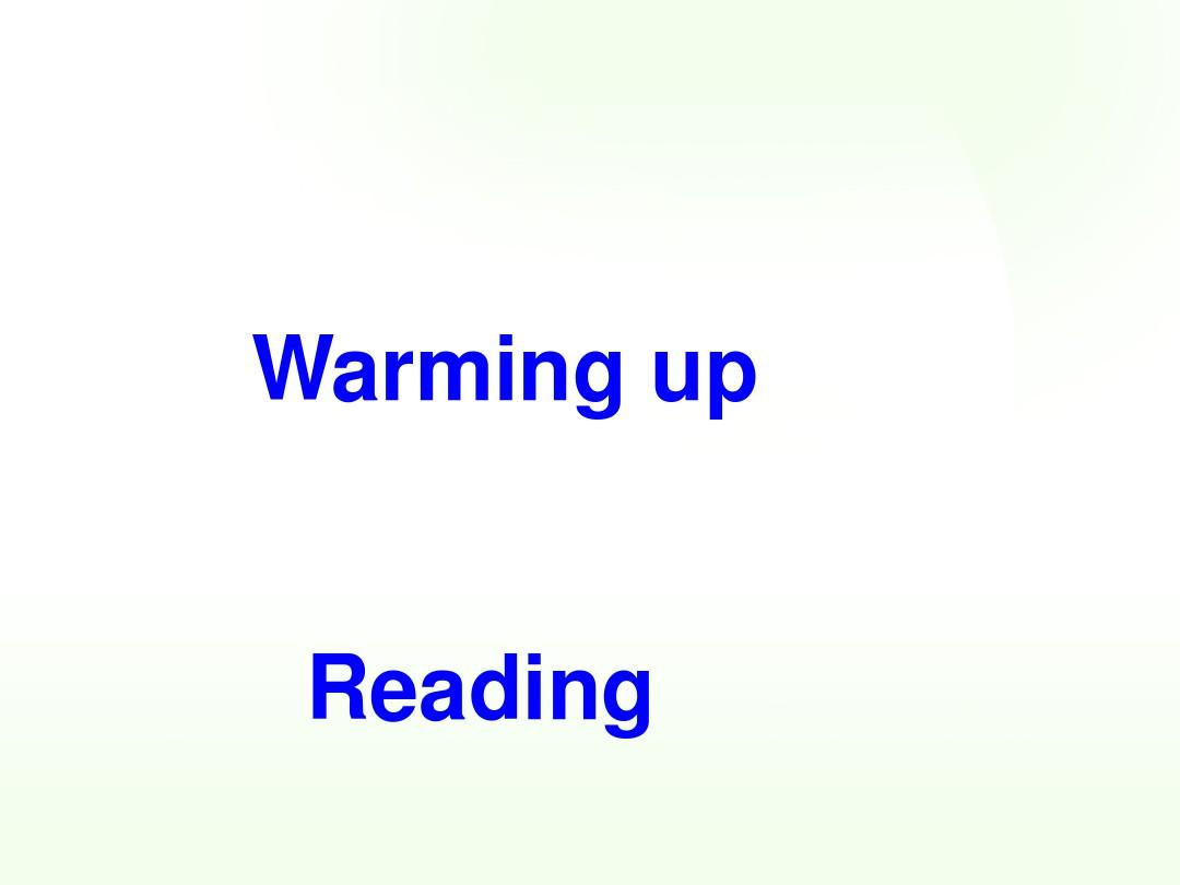 新人教版高中英语必修一高中英语_Unit2_English_around_the_world(Reading)课件精品ppt课件