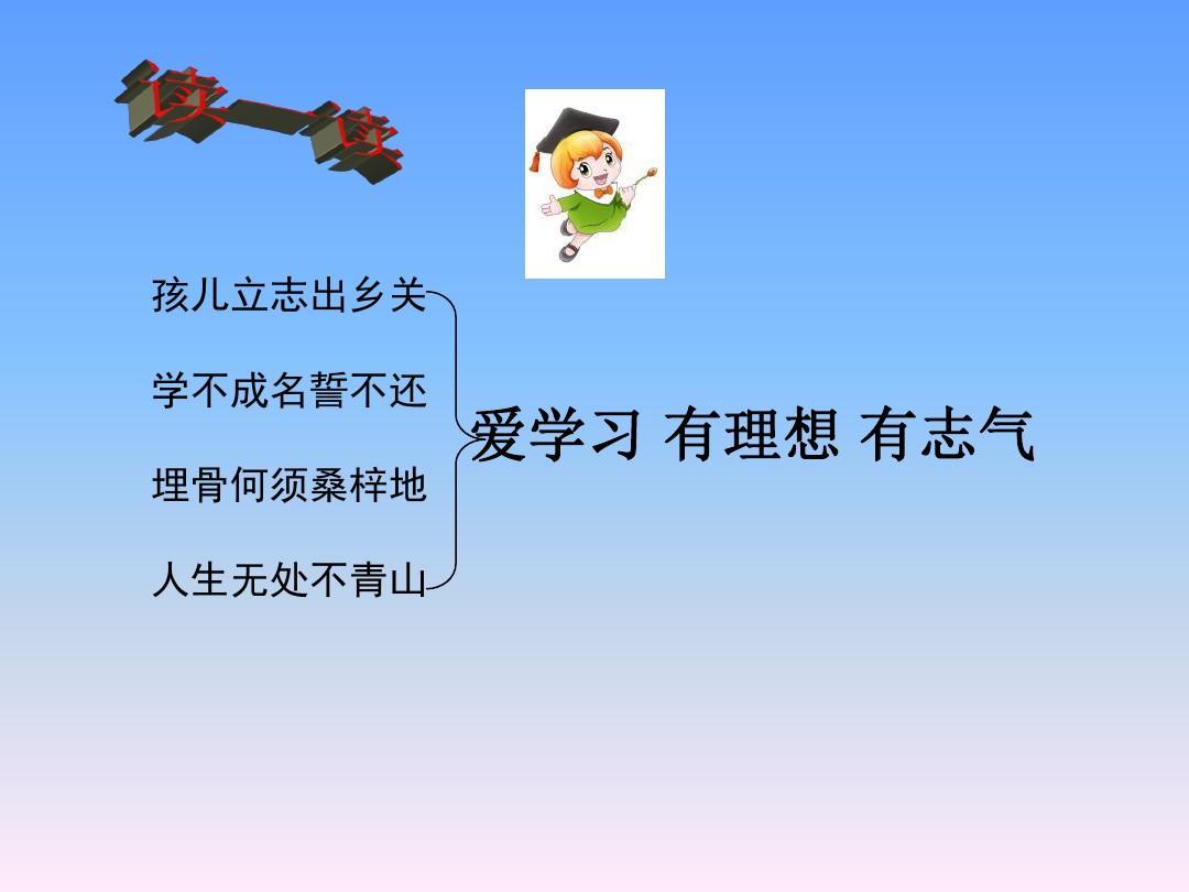 六年级下语文课件(B)-站在世界地图前的少年湘教版PPT