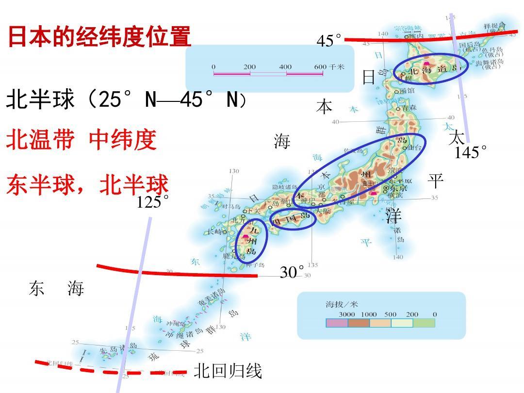 七年级下册地理_最新人教版七年级下册地理日本ppt