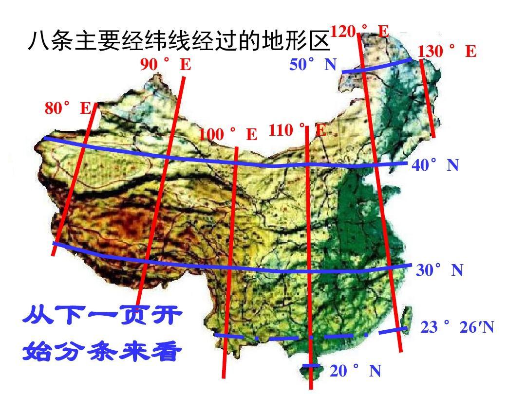 高二地理备�{�N��X�_高二地理毕智宏中国主要经纬线1ppt