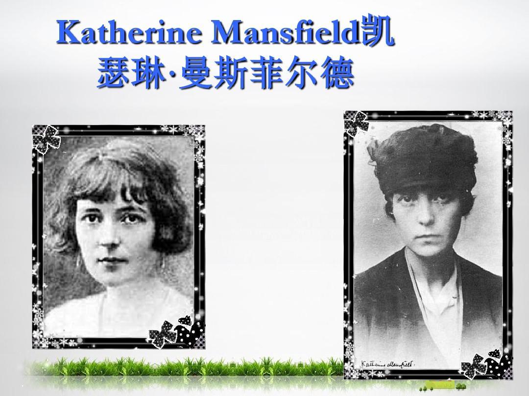 katherine MansfieldPPT