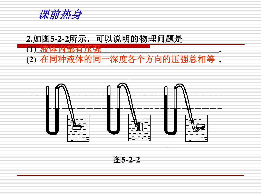 中考壓強液體v壓強物理----課件的答案(1)專題ppta壓強江西初中生圖片