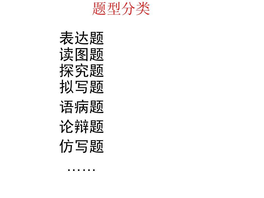 语文答题公式 全国中考语文试题分类汇编 语言表达得体 中考语文仿写