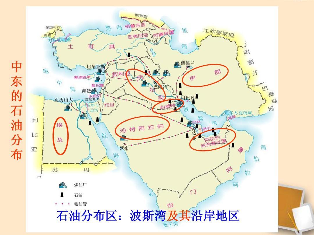 湖北省武汉市为明实验学校七年级地理下册《8.1 中东图片