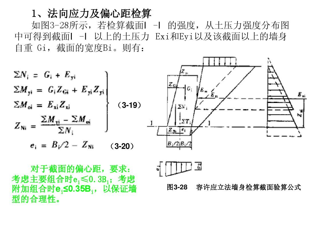 3__重力式挡土墙ppt图片
