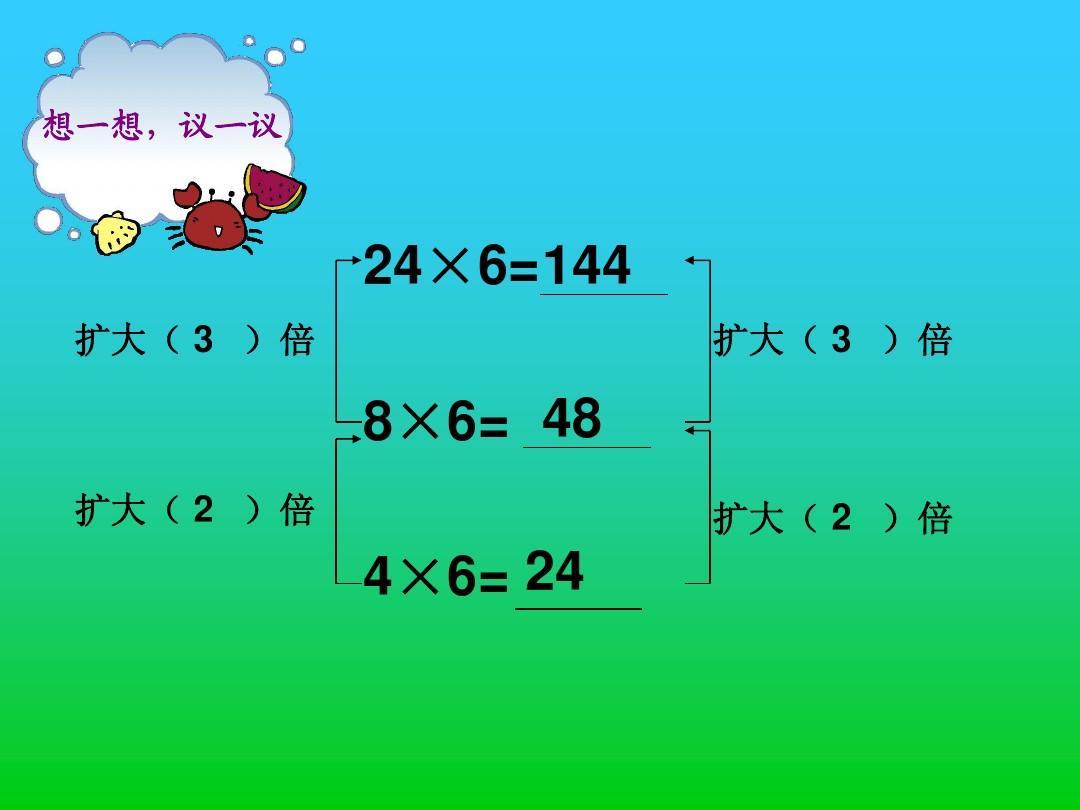 【四年级气球规律教学设计优质数学】积的v年级小班ppt上册吹课件说课稿图片