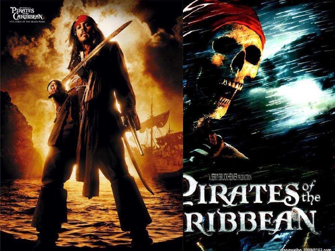 加勒比海盗 英文ppt