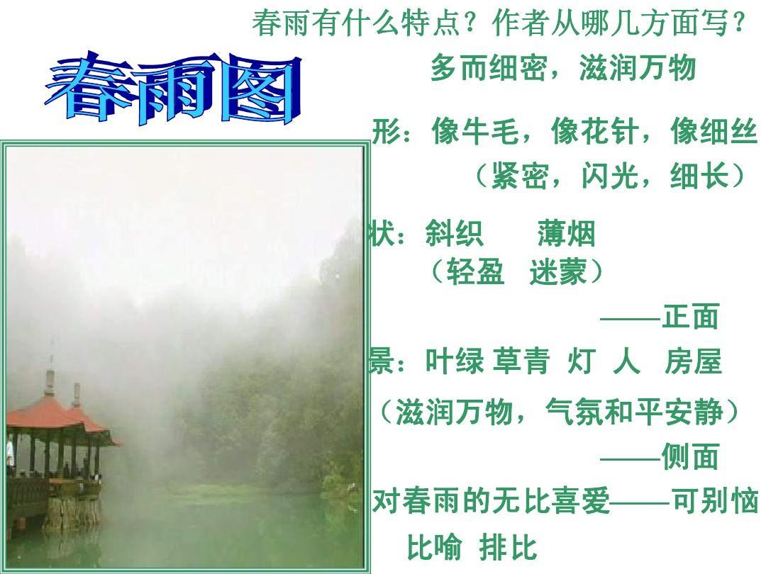 春朱自清ppt教学优秀教案教学设计5小学英语问题语音的课件及思考图片