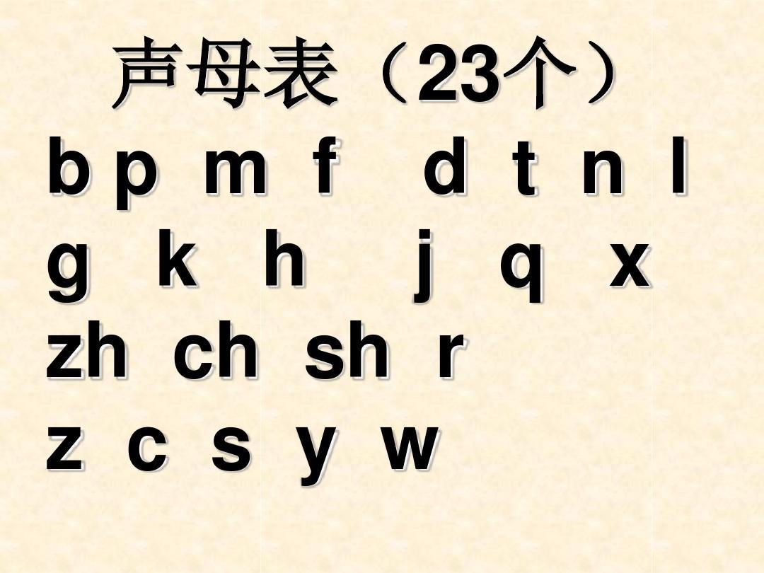 拼音字母表ppt图片
