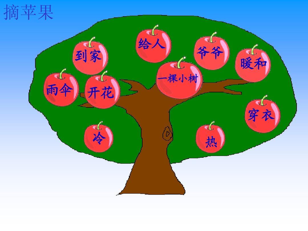 《小树和爷爷》教学课件ppt番禺大博教学学校怎样?图片