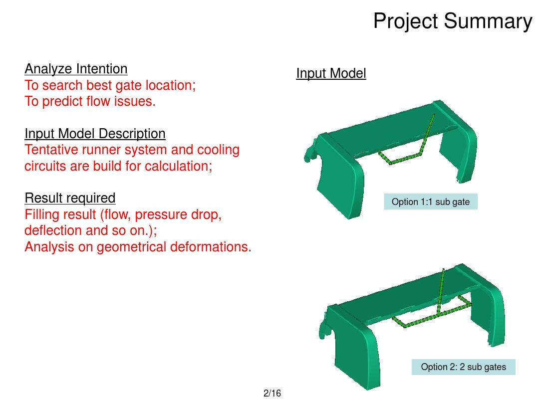 塑胶模具模流分析经典案例PPT小学校庆标志物设计图片
