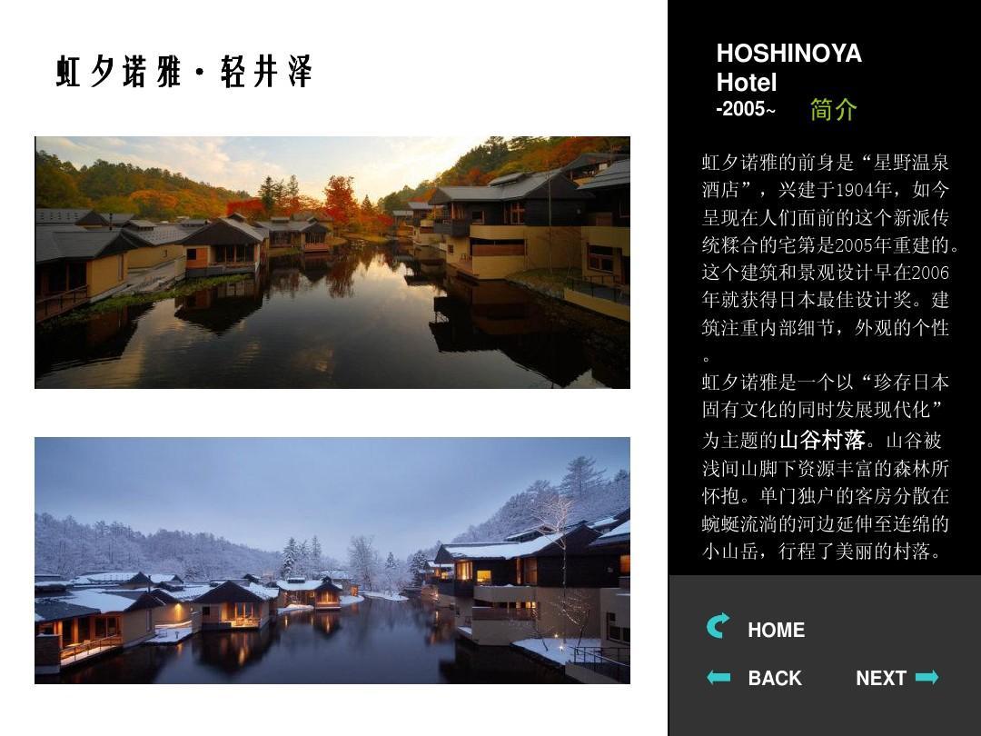 山地建筑旅馆实例分析ppt图片