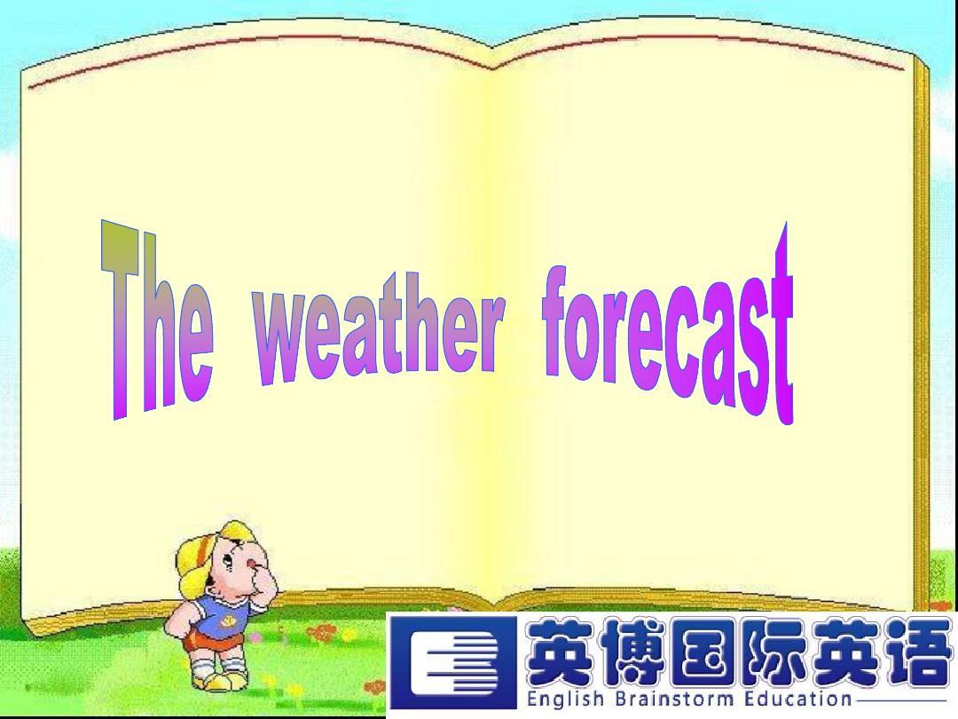 天气预报英文词汇_----weather_forecastPPT