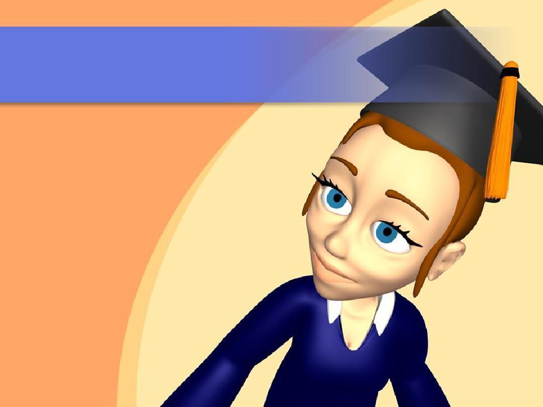 立体卡通人物-学位帽图片