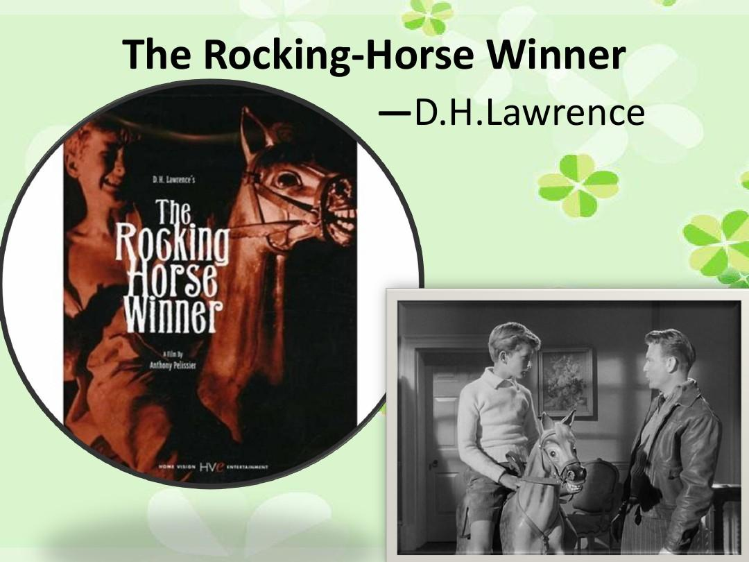 The_Rocking-Horse_WinnerPPT