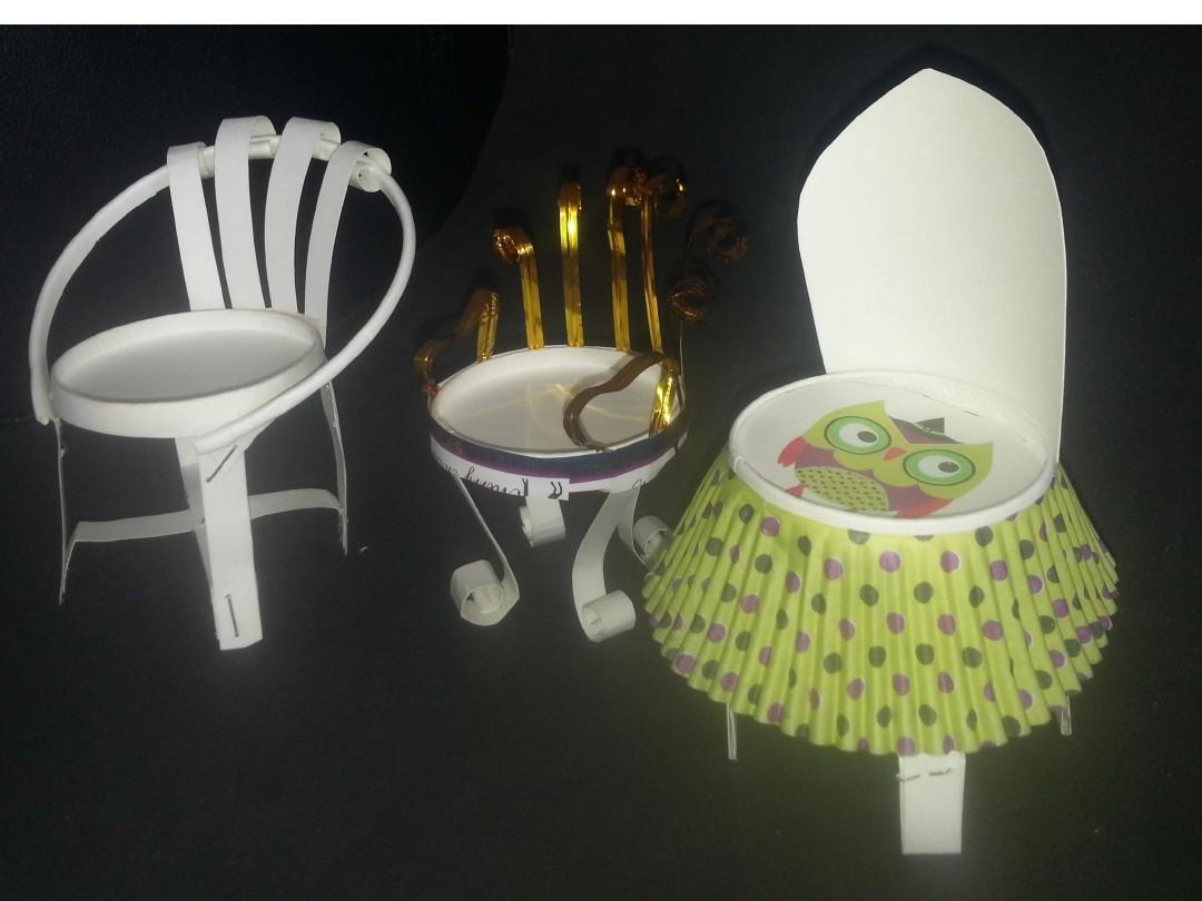 纸杯创意--桌椅ppt图片
