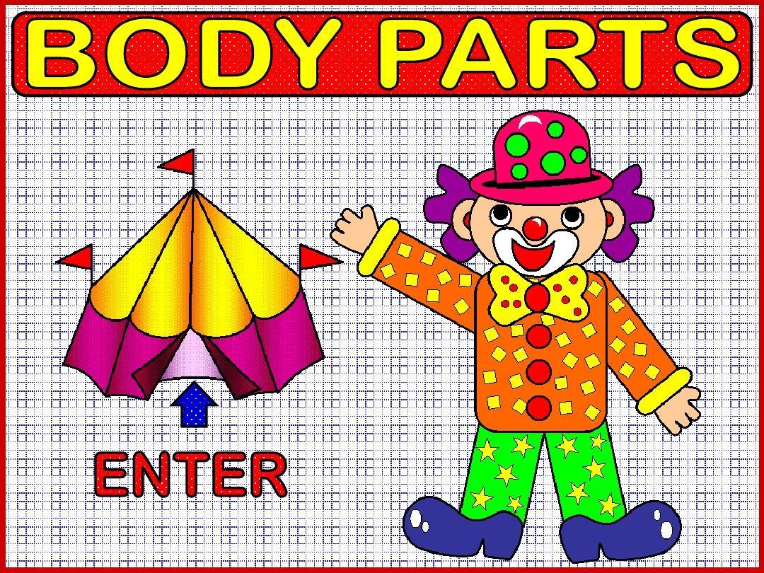 body 身體 英語單詞PPT