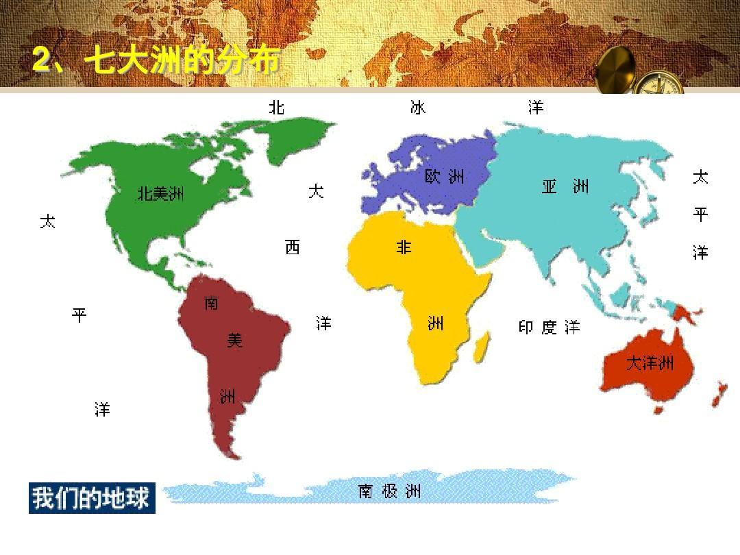 世界七大洲的气候分布图_七大洲分布的特点-