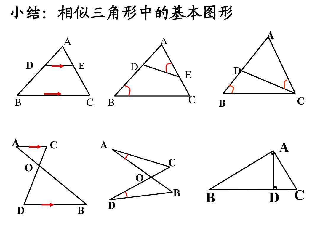 相似三角形復習課件答案ppt圖片