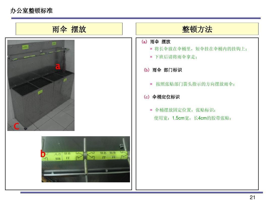 办公室5s标准ppt图片