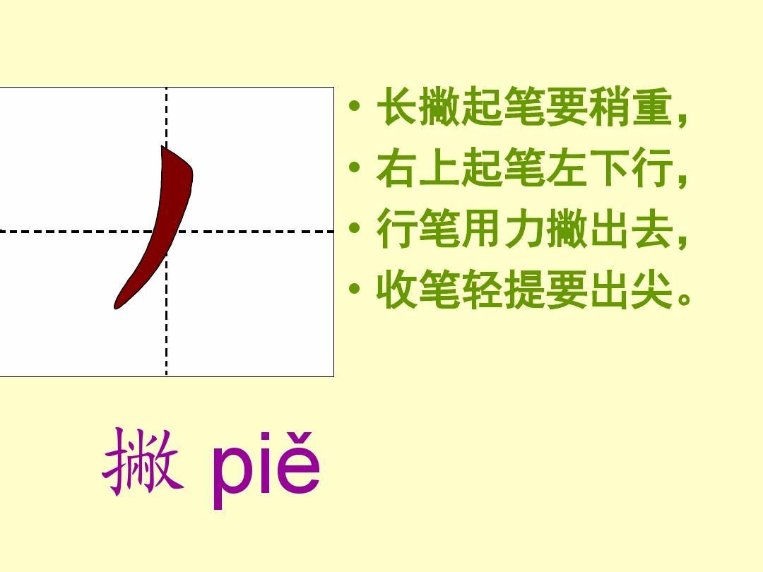 上海中考知识点_汉字笔画名称、写法(田字格 拼音)-汉字笔划名称写法_word文档 ...