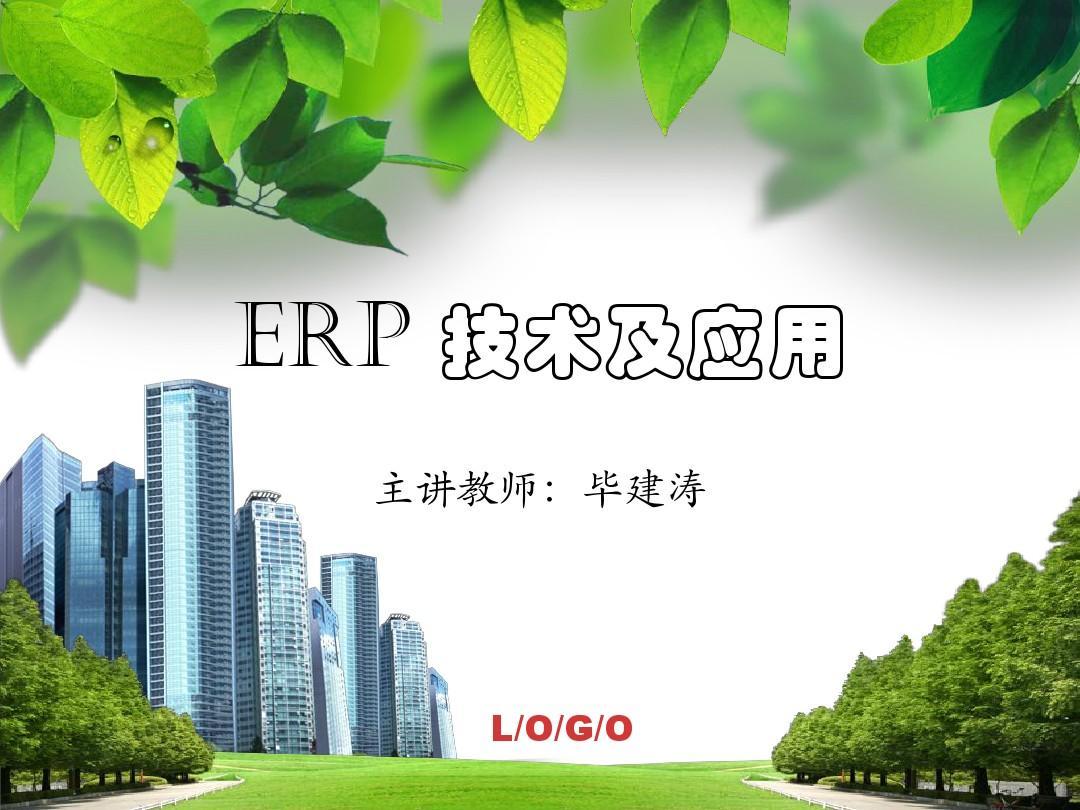 ERP技术与应用--第2章