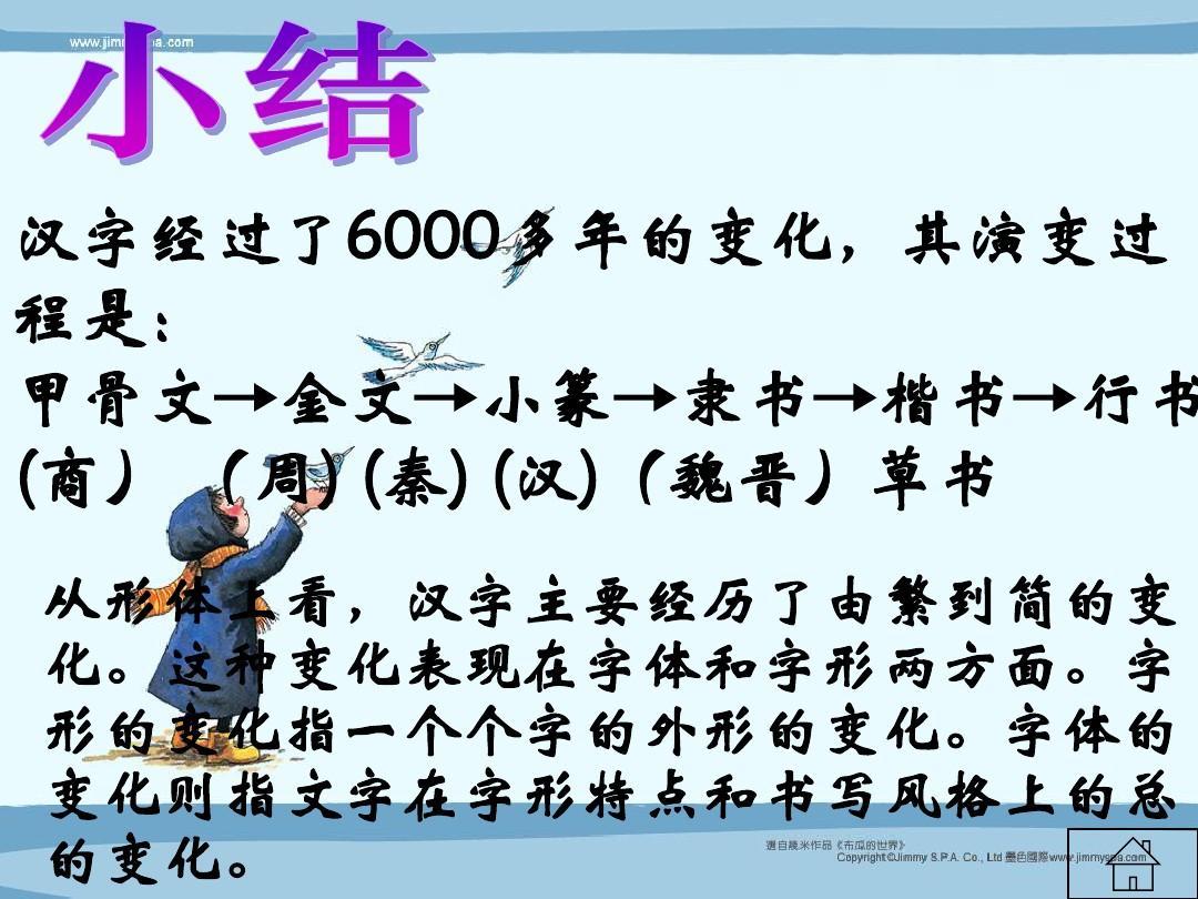 汉字的起源与发展ppt图片