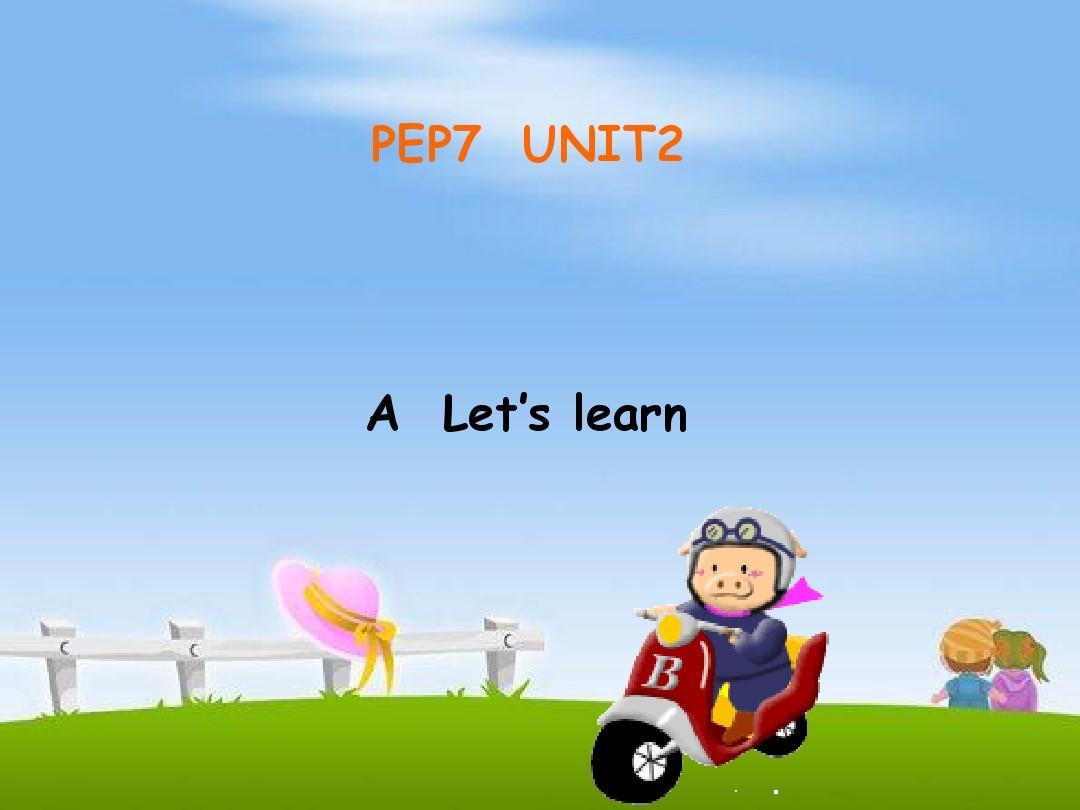 Unit2 PartA Let's learn