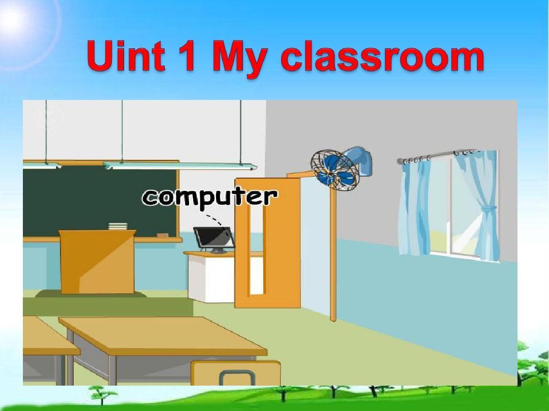 上册教版PEP小学英语四教学新人unit1_my_cl小提琴100天快板小年级图片