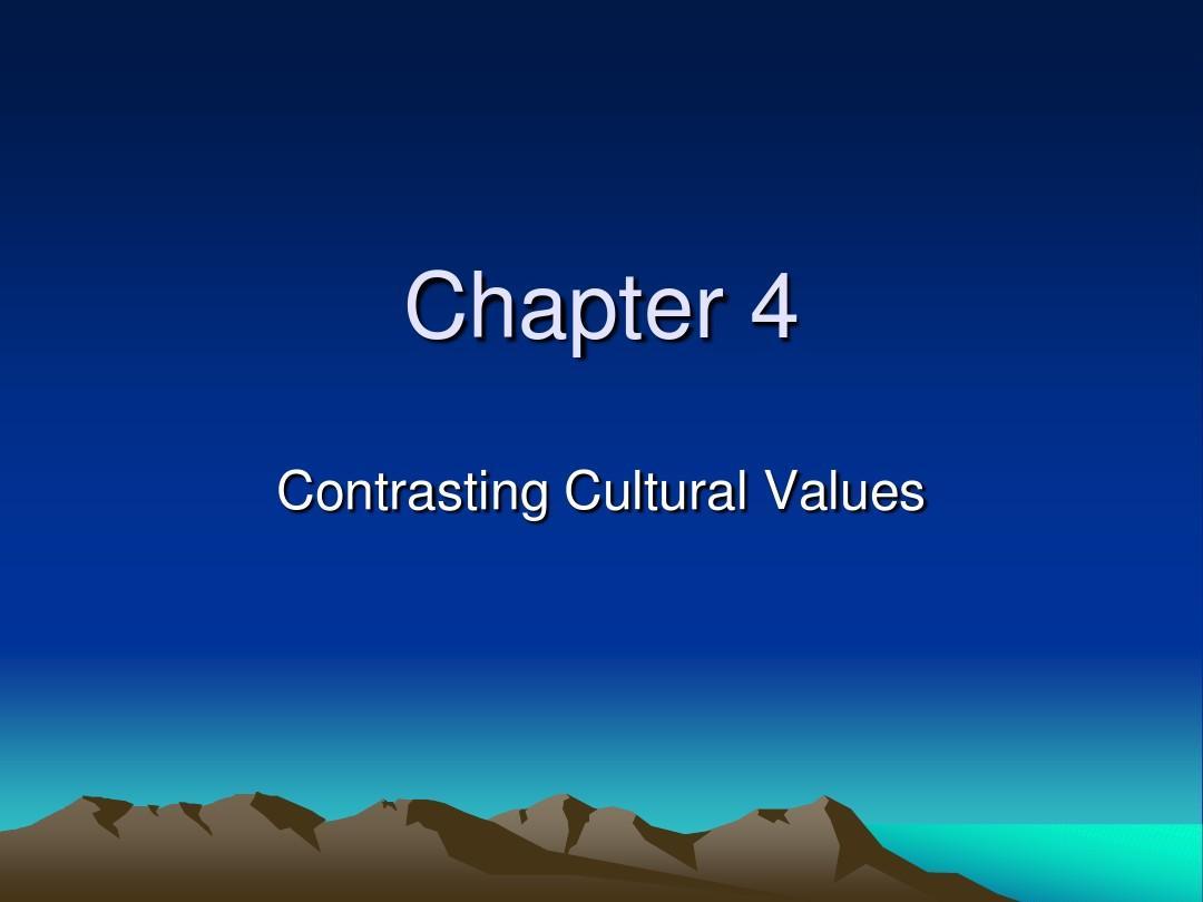 跨文化商务英语课件4